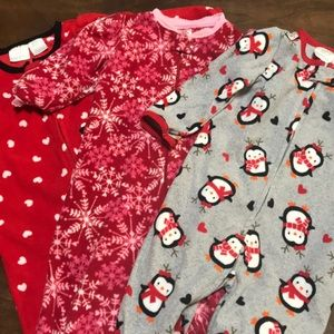 Set of 3 Winter Onesies